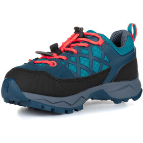 SALEWA MTN Trainer WP Shoes Kids, caneel bay/fluo coral